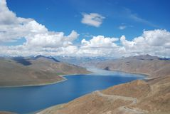 A beautiful lake in tibet Royalty Free Stock Photography