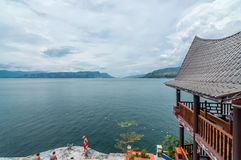 Beautiful Lake Toba Royalty Free Stock Image