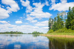 Beautiful lake Stock Image