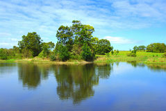 Beautiful lake in victoria australia Stock Images