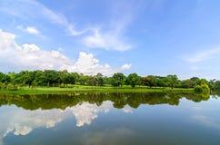 Beautiful lake view Stock Photos