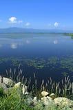 Beautiful lake view,Greece Royalty Free Stock Photo