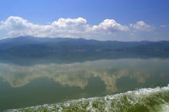 Beautiful lake view,Greece Stock Photo