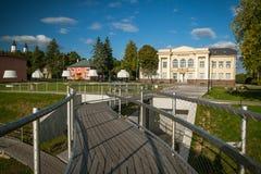 Beautiful lake Zarasas summer day. Lithuania. Royalty Free Stock Image