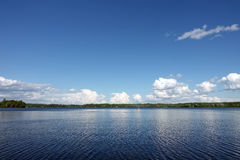 Beautiful lakefront - Golden Lake Stock Images