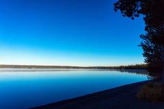 Beautiful Lakeshore View Stock Photography