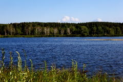 Beautiful lakeside Royalty Free Stock Photography