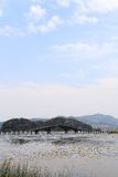 The beautiful lakeview in puzhehei county,yunnan, china Stock Photography