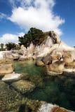 Beautiful Lamai beach, Ko Samui, Thailand Royalty Free Stock Images