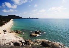 Beautiful Lamai beach, Ko Samui, Thailand Royalty Free Stock Photos