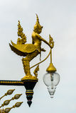 Beautiful lamp. On the road in Thailand Royalty Free Stock Photography