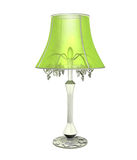 Beautiful lamp on the white background Royalty Free Stock Photos