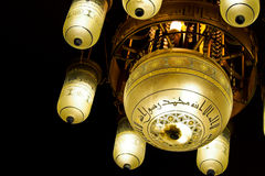 The beautiful lamps Royalty Free Stock Photos