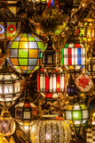 Beautiful lamps of Marrakech Stock Photo