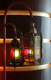 Beautiful lamps on the Occasion of Eid Royalty Free Stock Images