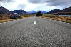 Beautiful land scape of arthur pass naitonal park important dest Royalty Free Stock Photo