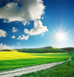 Beautiful landscape Stock Image
