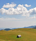 A beautiful landscape. In Transylvania royalty free stock photography