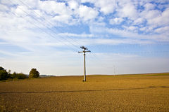 Beautiful landscape with acre Royalty Free Stock Image