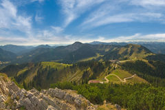 Beautiful landscape Alps mountains Royalty Free Stock Image