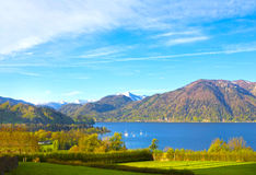 Beautiful landscape with Alps, Salzburger Land, Austria. Beautiful landscape with Alps at Salzburger Land, Austria Stock Image