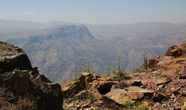 Andes mountains view Stock Photos