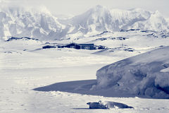 Beautiful landscape in  Antarctica Stock Photo