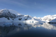 Beautiful landscape in Antartica royalty free stock image