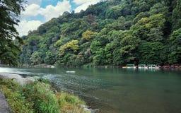 Beautiful landscape in Arashiyama, Kyoto, Japan Stock Photos