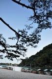 Beautiful landscape in Arashiyama, Kyoto, Japan Stock Images