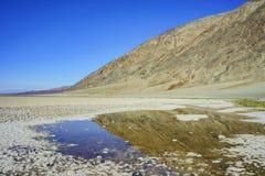 Beautiful landscape around Badwater Basin Stock Photos