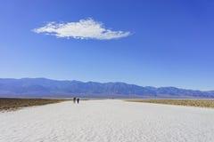 Beautiful landscape around Badwater Basin Royalty Free Stock Photography
