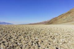 Beautiful landscape around Badwater Basin Royalty Free Stock Photo