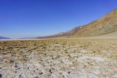 Beautiful landscape around Badwater Basin Royalty Free Stock Photos