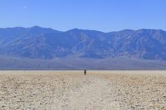 Beautiful landscape around Badwater Basin Stock Photo