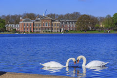 Beautiful landscape around Hyde Park Royalty Free Stock Images