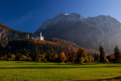 Beautiful landscape around Neuschwanstein castle Royalty Free Stock Images