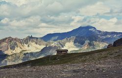 Free Beautiful Landscape At 2,764 M , Col De L`Iseran Mountain Pass Royalty Free Stock Images - 119312339
