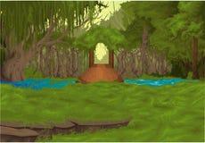 Beautiful Landscape background vector Stock Photos