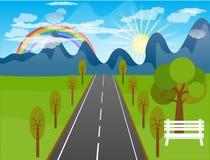 Beautiful landscape background Stock Image