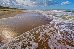 Beautiful landscape,baltic see. Stock Image