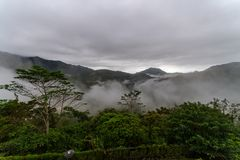 Beautiful landscape in Banaue. Philippines Royalty Free Stock Photos