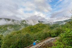 Beautiful landscape in Banaue. Philippines Royalty Free Stock Photography