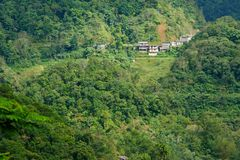 Beautiful landscape in Banaue. Philippines Royalty Free Stock Images