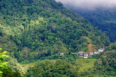Beautiful landscape in Banaue. Philippines Stock Photography