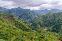 Beautiful landscape in Banaue road. Philippines Stock Photo