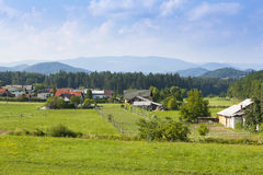 Beautiful landscape in Bavarian Alps Stock Image