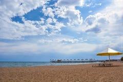 Beautiful landscape beach and lake. Beautiful landscape beach, lake, sky, clouds Royalty Free Stock Image