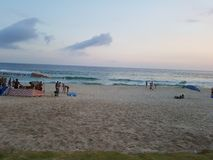 Beautiful landscape beach stock images