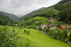 Beautiful landscape in the Black Forest Stock Photo